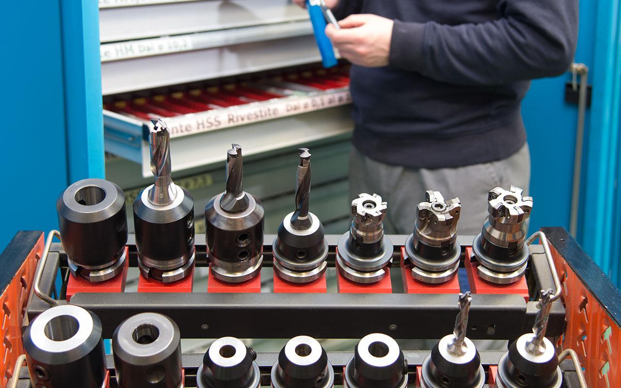 Magazzino - MDP Precision Machining